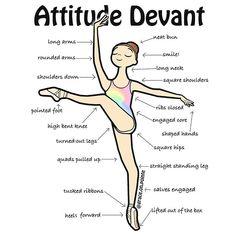 Attitude Devant  *Receive a free mini Attitude Devant print with any purchase this week!  #ballet
