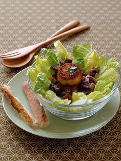 Salade de gésiers : recette de salade de gésiers - Recette classique - Cuisine française : recettes des grands classiques - aufeminin.com