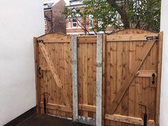 Two single gates by Speakman Gates