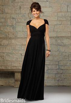 Bridesmaids Dress 712 Jersey