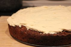 Carrot Cake - healthy version without butter, refined sugar or oil! Full of apple sauce, carrots, pineapple, nuts and seeds! And of course, the delicious cream cheese  icing Best Carrot Cake, Apple Sauce, Cream Cheese Icing, No Bake Cake, Tarts, Pineapple, Seeds, Butter, Sugar