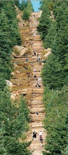 The Manitou Incline - Colorado Springs, I'm going to do this!