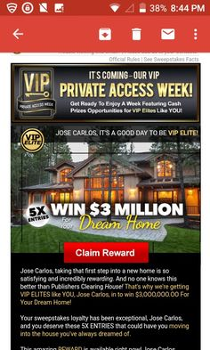 i jose carlos gomez of oxnard ca claim pch 3 million dream home ownership of - PIPicStats Win For Life, Lottery Winner, Publisher Clearing House, Online Sweepstakes, Cash Prize, Home Ownership, Public, Things To Come, Giveaway