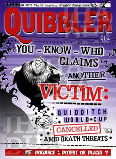 Quibbler : you-know-who claims another victim by jhadha