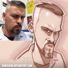Uncadul reference.  #sketch #doodle #pencildrawing #portrait #caricature #mangaportrait #animeportrait