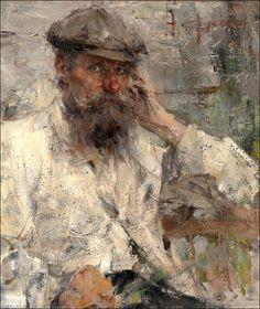 Nikolai Fechin (Russian, 1881-1955), Portrait of My Father.