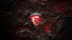Download MSi Gaming G Series Logo Lava Background 3840x2160