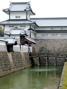 Kanazawa Castle, Ishikawa, Japan