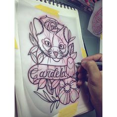 El de mañana buen fin de semana para todos,citas disponibles wa 3114955762 #xlionxtattoo #sketch #neotrad #neotradi #neotradsub #neotradtattoo #neotraditional #cat #davidsaavedratattoo #draw | por xLIONx LMC