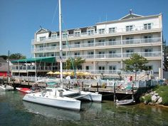 Chippewa Hotel, Mackinac Island.  Stayed here for summer vacation in Harbor View Suite.  It was amazing!