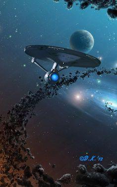 Star Wars, Star Trek Tos, Marvel Comics, Arte Dc Comics, Uss Enterprise, Star Trek Enterprise Ship, Vaisseau Star Trek, Star Trek Wallpaper, Planets Wallpaper