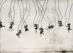 MEL KADEL Swingset Girls.