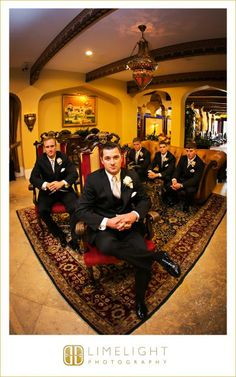 CASA MONICA, Florida, St.Augustine, wedding, wedding photography, groom, groomsmen, Limelight Photography, www.stepintothelimelight.com