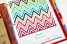 Household Management Binder Printable Kit