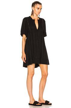 Image 3 of Isabel Marant Etoile Anabel Something Ethnic Dress in Black