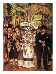Hasta la Muerte - diego rivera