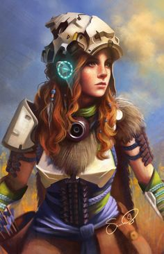 Aloy (Horizon Zero Dawn) by Sicarius8.deviantart.com on @DeviantArt - More at https://pinterest.com/supergirlsart/ #fanart