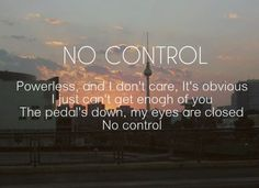 no control // one direction