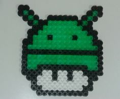 Android mushroom hama beads