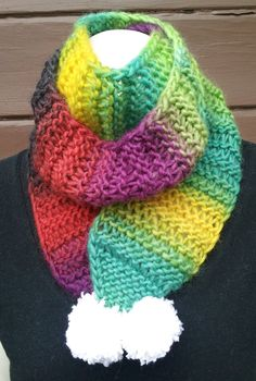 Lovely multi color scarf in 2013 colors