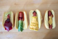 Disney Princesses Reimagined as Hot Dogs | Lucky Peach