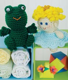 Crochet Little Princess &  Frog - free crochet pattern