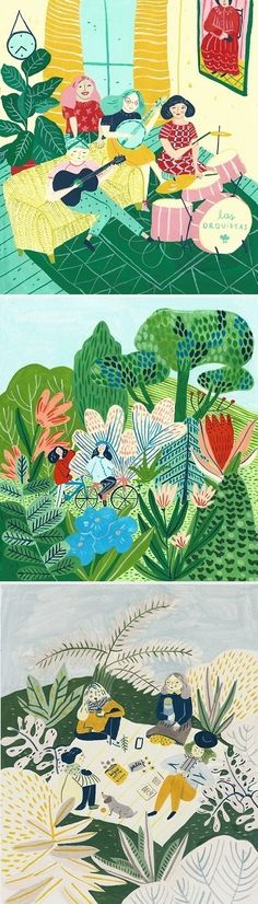 Illustrations by Josefina Schargorodsky / On the Blog!