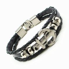 Men's Anchor Bracelet