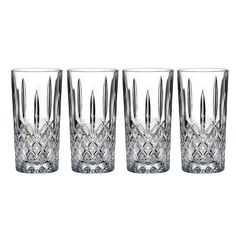 Marquis by Waterford Markham 4-pc. Crystal Highball Glass Set, Multicolor