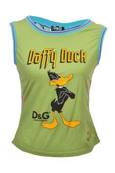 D&G #DolceGabbana #top #duffyduck #fashion #vintage #mode #secondhand #onlineshop #fashionblogger #mymint