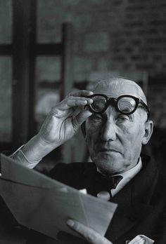 Le Corbusier, 1956. André Villers