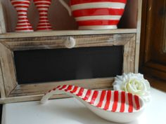 CERAMIC LARGE SPOON REST, FRENCH RUSTIC CHIC VINTAGE, COUNTRY KITCHEN, RED Available from http://stores.ebay.co.uk/Dolly-Daydream-Boutique https://www.facebook.com/maisonroyale.co.uk