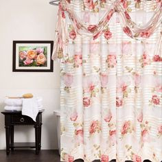 Madeline Fabric Shower Curtain