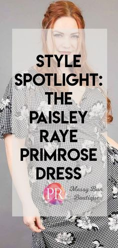 paisley raye primrose dress
