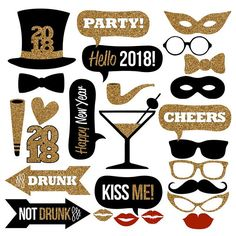 Happy New Years 2018 printed and ready to use photo booth props are in! Check these out limited quantities get it before they are gone! https://www.etsy.com/listing/552597244/25-pcs-new-years-2018-photo-booth-propshttps://www.etsy.com/listing/552597244/25-pcs-new-years-2018-photo-booth-props