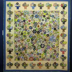 **Compote of Flowers    Suzuko Koseki ~  Hexagon theme exhibit