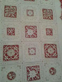 吉田恵江's media content and analytics Hardanger Embroidery, Embroidery Stitches, Hand Embroidery, Drawn Thread, Lacemaking, Linens And Lace, Needle Lace, Shabby, Cutwork