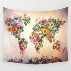 Buy world map by Bekim ART as a high quality Wall Tapestry. Worldwide shipping available at Society6.com. Just one of millions of products available.