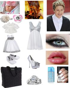 """going to a boys wedding with Niall and the baby"" by marielagonzalez ❤ liked on Polyvore"