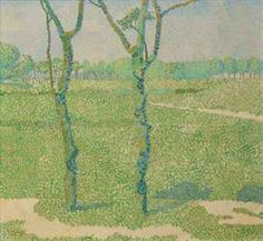 Jan Toorop A landscape with trees