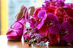 Wedding Bouquet & Shoes