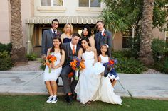 This bridal party was awesome! LOVE the faces! :)