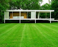 Farnsworth House: An Amazing House by Mies Van der RoheThe Farnsworth House, built by Ludwig Mies van der Rohe in 1951 and located near Plano, Illinois, is one of the most famous examples of modernist dome... Architecture