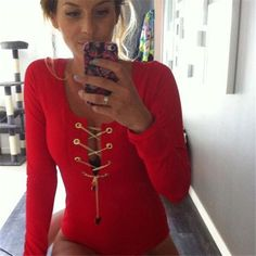 6b9c63a69e5 Aliexpress.com   Buy Kaywide 2017 Autumn Short Sexy Rompers Womens Jumpsuit  Long sleeve Lovely Chain Design Lace Up Bodysuit Elegant Bodycon Overalls  from ...