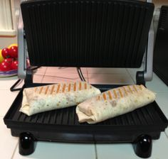 We recently purchased a panini machine from Amazon. There are many machines out there. Some have removable and/or reversable plates. Some have different heating elements and controls. Some are really expensive. We chose the griddler because of its simplicity and size. It ended up being very reasonable. The Lost Apron
