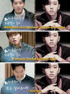 B.A.P missing Youngguk while he is getting better.