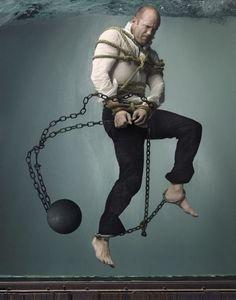Jason Statham, por Mark Seliger, 2008