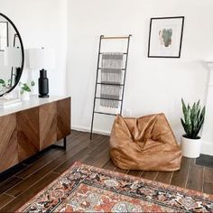 Vegan Leather Caramel Modern Lounger   Pottery Barn Teen Yacht Interior, Interior Design, Leather Bean Bag Chair, Teen Bedroom Furniture, Cool Cube, Sherwin William Paint, Sink In, Pottery Barn Teen, Lounge Seating