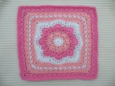 "Free pattern for 12"" square."