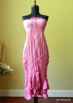 SALE Tie Dye Maxi Long Skirt or Dress Hippie by BenThaiProducts